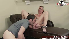 German Family sex with father and mother Roleplay Milf