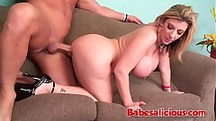 Babesalicious - Big Boobs Milf Sara Jay Couch Sex