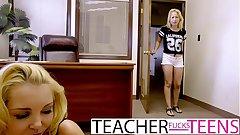 Hot trine fianc� for punished student