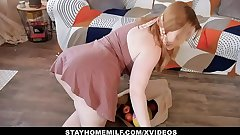 Remain true to HOME MILF -  Fucked  By Horny Flatmate