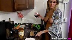 Lass takes mom day & night - Nikki Brooks
